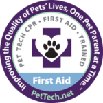 Pet First Aid/CPR Certified